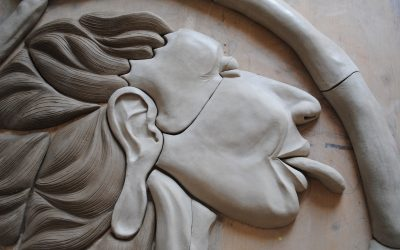 Contorsion – Fresque Haut relief