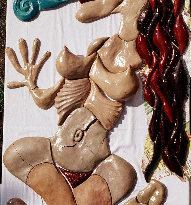 Pacha Mama – Fresque Haut relief
