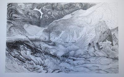 Interprétation de Turner – Gravure