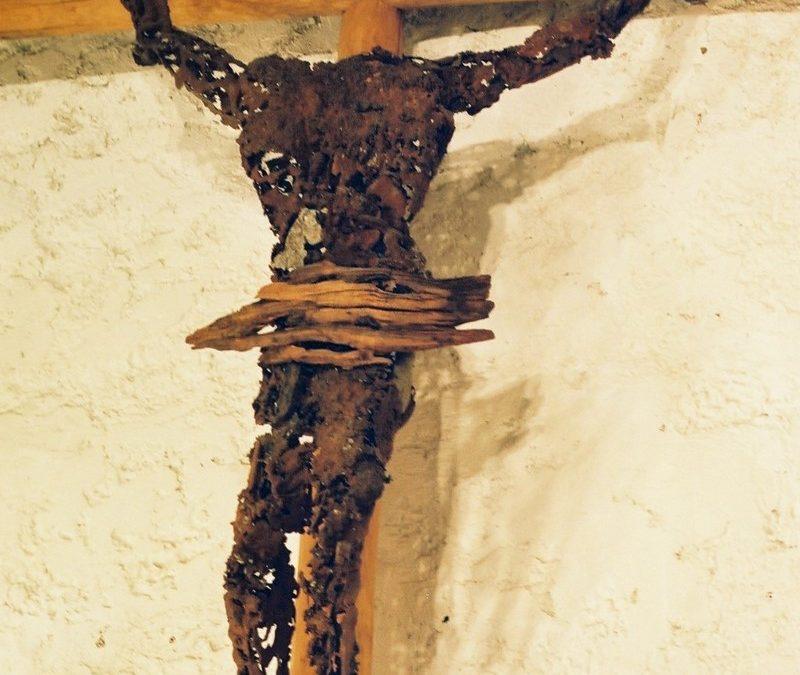 Calvaire – Sculpture Acier Bois