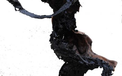 Danseuse sans Tête – Sculpture Acier Bois