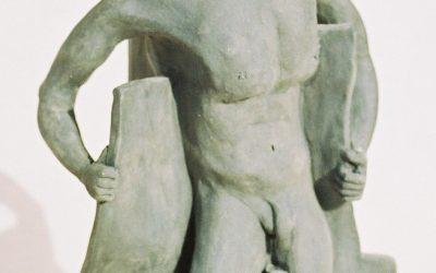 Minotaure – Sculpture Céramique