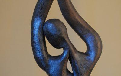 Autre Vénus Noire – Sculpture Céramique