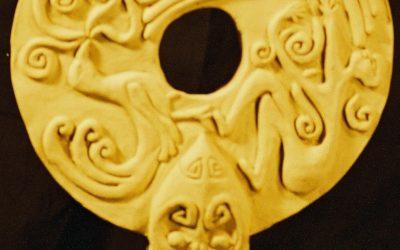 La Découverte du Feu – Sculpture Céramique
