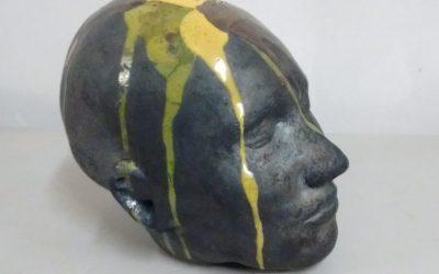 Tête – Sculpture Céramique