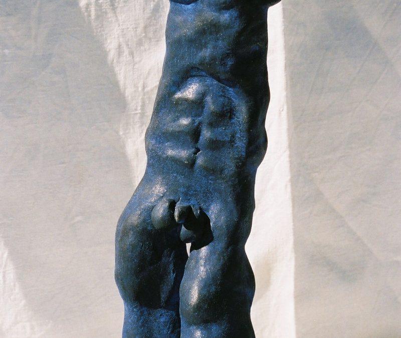 Statuette Masculine – Sculpture céramique